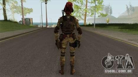 Engineer From Squad Aurora (Warface) para GTA San Andreas