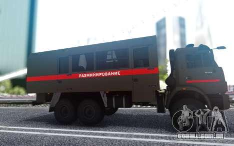 КavАЗ 45143 de Desminagem da polícia Militar para GTA San Andreas