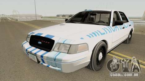 Ford Crown Victoria 2011 Slicktop SASP RCPM para GTA San Andreas