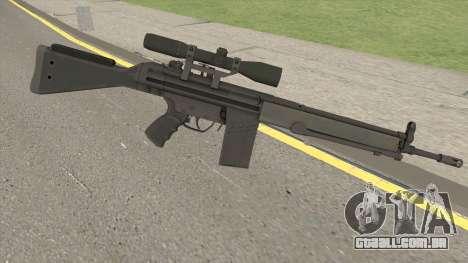 G3SG1 HQ para GTA San Andreas