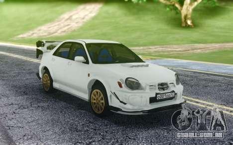 Subaru WRX STI para GTA San Andreas