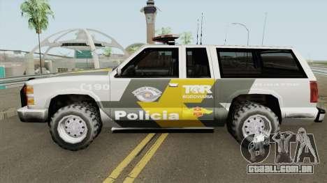 Policia Rodoviaria SP (Federal) TCG para GTA San Andreas