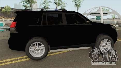 Toyota Land Cruiser J150 Zandarmerija para GTA San Andreas