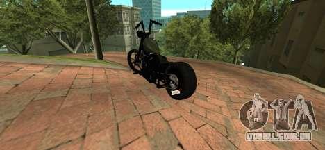 Harley Davidson 110cid Night Train para GTA San Andreas