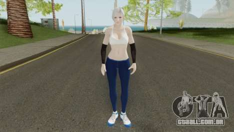 Christie (Sport Leggings) From DOA5LR para GTA San Andreas