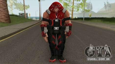 Juggernaut From Marvel Strike Force para GTA San Andreas