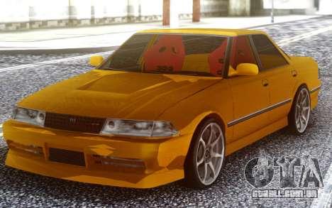 Toyota Mark II JZX81 Big Win para GTA San Andreas