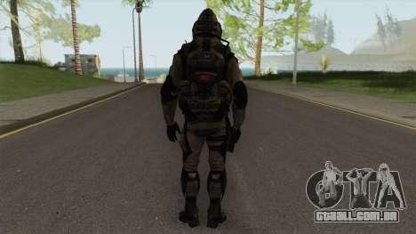 Sniper From Squad Night Tiger (Warface) para GTA San Andreas
