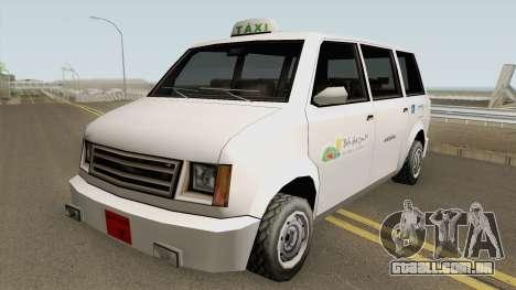 Cabbie Taxi Santos-SP (BH) para GTA San Andreas