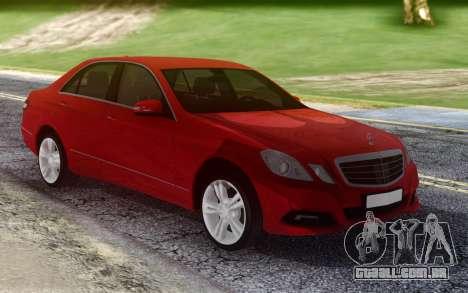 Mercedes-Benz E500 W212 para GTA San Andreas