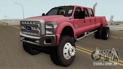 Ford Super Duty MegaCAB para GTA San Andreas