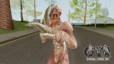 Licker V1 (Resident Evil: The Darkside Chronic) para GTA San Andreas