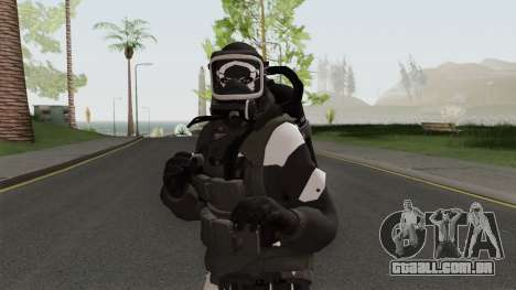 The Black Armoury para GTA San Andreas