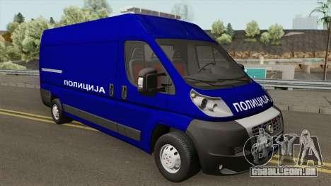 Fiat Ducato Maxi Serbian Police para GTA San Andreas