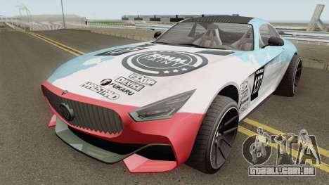 Benefactor Schlagen GTR GTA V IVF para GTA San Andreas