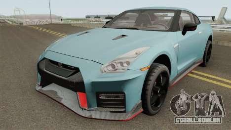 Nissan GT-R R35 NISMO 2018 para GTA San Andreas