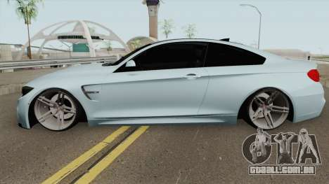 BMW M4 2014 SlowDesign (Black Wheels) para GTA San Andreas