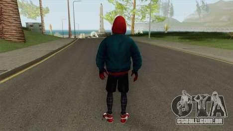 MFF Miles Morales Into the Spiderverse para GTA San Andreas