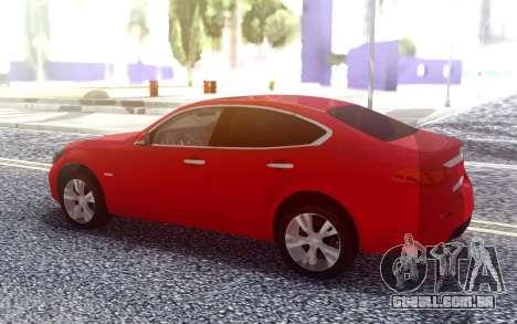 Infiniti Q70 para GTA San Andreas