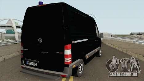 Mercedes-Benz Sprinter Magyar Rendorseg para GTA San Andreas