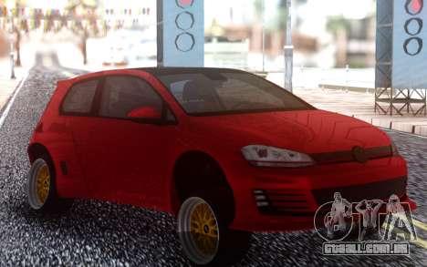 Volkswagen Pandem Golf GTI 2014 para GTA San Andreas