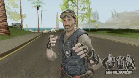 ISA Shotgun (Call of Duty: Black Ops 2) para GTA San Andreas