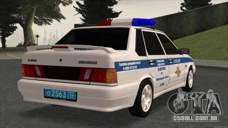 2115 SOBRE A POLÍCIA DE TRÂNSITO para GTA San Andreas