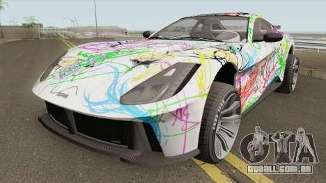 Grotti Itali GTO Stock GTA V para GTA San Andreas