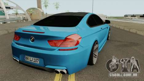 BMW M6 SlowDesign 2013 para GTA San Andreas