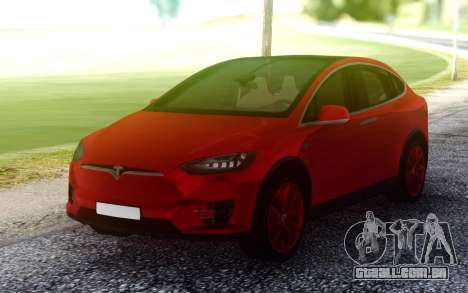 Tesla Model X para GTA San Andreas
