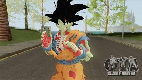 Zombie Goku From DB Xenoverse (Xenoverse) para GTA San Andreas