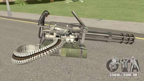 M-134 Minigun Default Design para GTA San Andreas