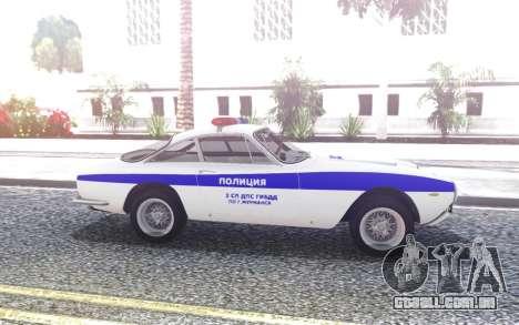 Ferrari F250 GT - SB polícia de trânsito para GTA San Andreas