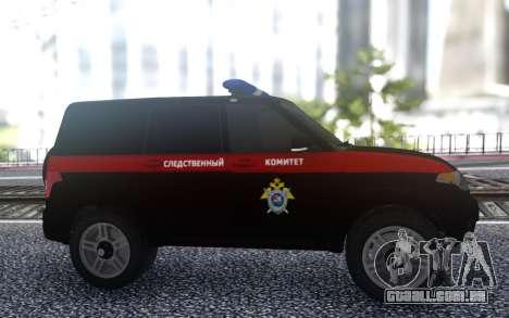 UAZ Patriota FSB para GTA San Andreas