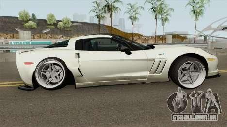 Chevrolet Corvette ZR1 2010 Stance para GTA San Andreas