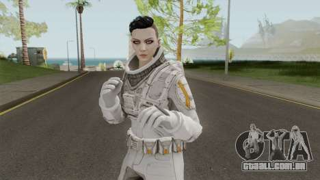 GTA Online: Arena Wars - White Astronaut para GTA San Andreas