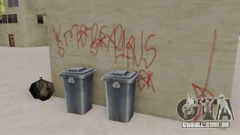 Westside Mob Piru Environment para GTA San Andreas