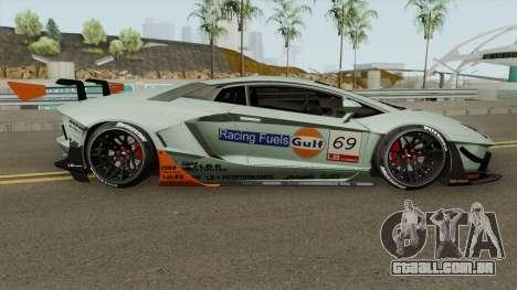 Lamborghini Aventador LP700-4 Liberty Walk 2011 para GTA San Andreas