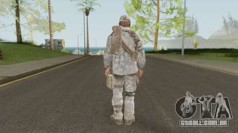 Skin 2 (Spec Ops: The Line - 33rd Infantry) para GTA San Andreas