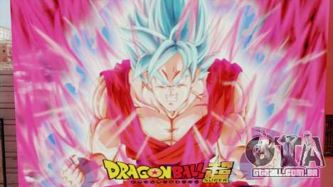 DBS Super Saiyan Blue Goku para GTA San Andreas