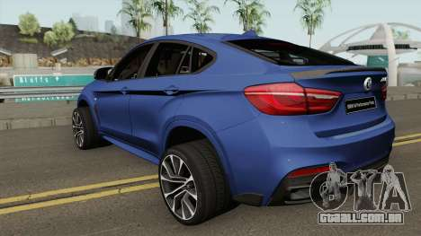 BMW X6 M Performance Parts para GTA San Andreas