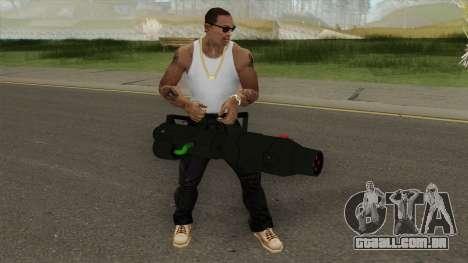 GTA Online (Arena War) Minigun para GTA San Andreas