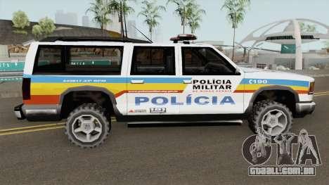 Copcarvg Policia MG TCGTABR para GTA San Andreas