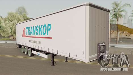 TRANSKOP Trailer para GTA San Andreas