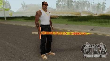 Dragon Sword para GTA San Andreas