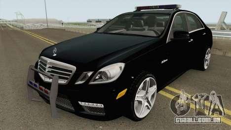 Mercedes-Benz E63 AMG Magyar Rendorseg para GTA San Andreas