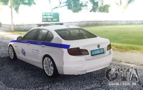 BMW 530 TRÁFEGO para GTA San Andreas