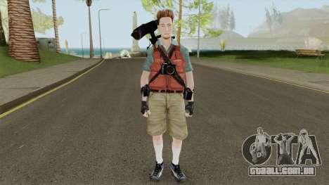 Kent Swanson from Dead Rising para GTA San Andreas