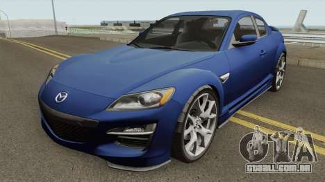 Mazda RX-8 2011 para GTA San Andreas