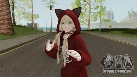 Marie Rose Fuwa Kumi Outfit para GTA San Andreas
